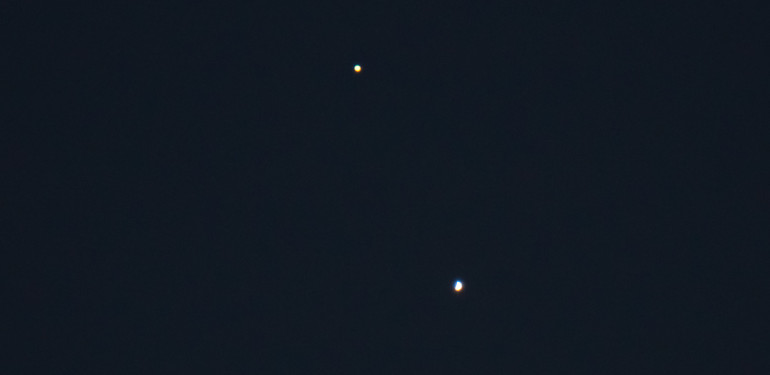 Jupiter Venus conjunction